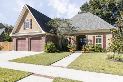 Single Family Home Active/Contingent: 110 Moss Creek Drive