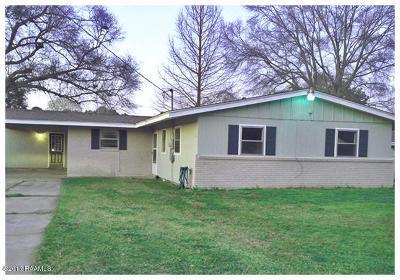 Eunice Single Family Home For Sale: 1320 Darrell Street