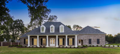 Abbeville Single Family Home For Sale: 8909 Vermilion Lakes Drive