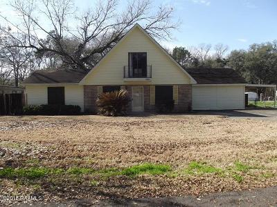 St. Martinville Single Family Home For Sale: 400 Oak Drive