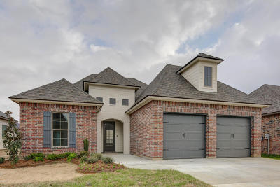 Broussard Single Family Home For Sale: 409 Easy Rock Landing(S)