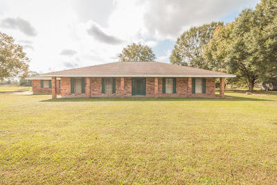 Carencro Single Family Home For Sale: 1423 W Gloria Switch Road