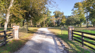 St Landry Parish Residential Lots & Land For Sale: Oakridge Ranch Rd