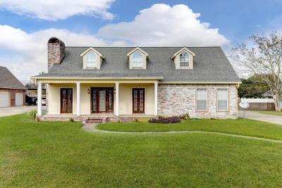 New Iberia Single Family Home For Sale: 2204 Terre Ruelle