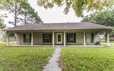 Eunice Single Family Home For Sale: 2229 Perchville Road