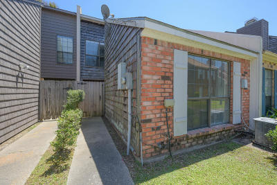 Lafayette Single Family Home For Sale: 209 Long Plantation Boulevard #F