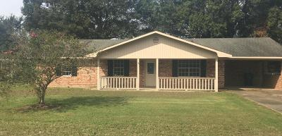 Eunice Single Family Home For Sale: 147 Lee Road