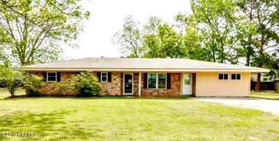 New Iberia Single Family Home For Sale: 3013 Pocahantas Street