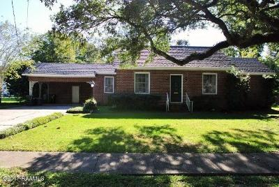 New Iberia Single Family Home For Sale: 314 Allen Street