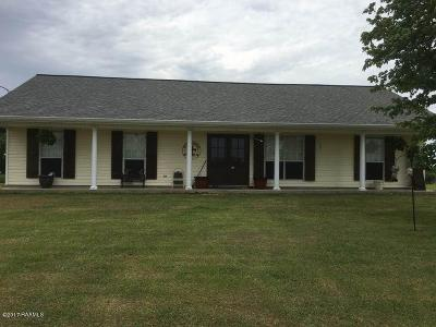 Abbeville Single Family Home For Sale: 19634 W. Liberty Farm