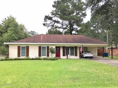 Lafayette Single Family Home For Sale: 209 Firmin Drive
