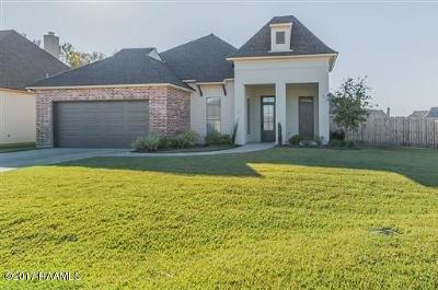Lafayette Single Family Home For Sale: 113 Saw Lake Lane