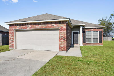 Carencro Single Family Home For Sale: 614 Magnolia Knee