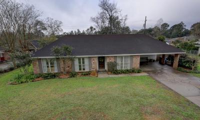 Lafayette Single Family Home For Sale: 632 Alonda Drive