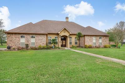 St. Martinville Single Family Home For Sale: 1074 Pecan Ridge