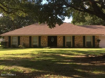 Lafayette Single Family Home For Sale: 405 N Michot