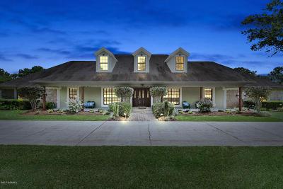 Lafayette Parish Single Family Home For Sale: 107 Ben Franklin Drive