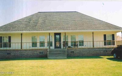 Erath Single Family Home For Sale: 109 North Road