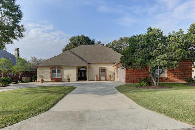 New Iberia Single Family Home For Sale: 1819 Squirrel Run Drive