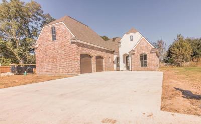 Broussard Single Family Home For Sale: 103 Tortoise Lane