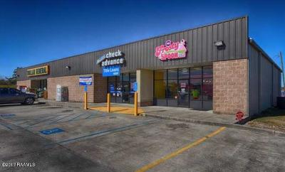 St Landry Parish Commercial For Sale: 920 E Laurel Drive #920