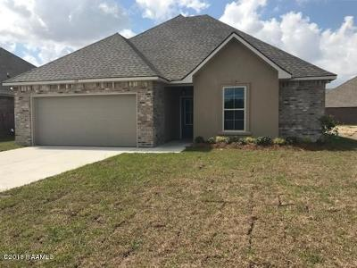 Lafayette Parish Single Family Home For Sale: 105 Barnsley Drive