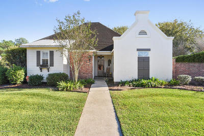 Broussard Single Family Home For Sale: 202 Capilano Lane