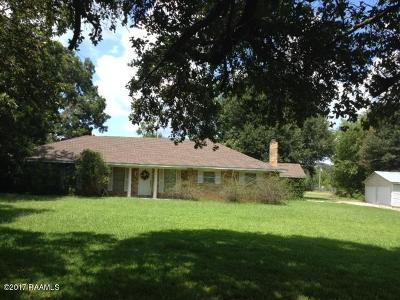 Opelousas Single Family Home For Sale: 1898 Hwy 3043