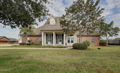 Lafayette Parish Single Family Home For Sale: 221 Teljean Road