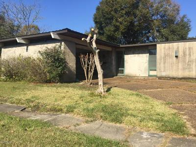 St Martinville, Breaux Bridge, Opelousas Single Family Home For Sale: 423 Abdalla Street