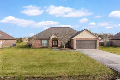 Duson Single Family Home For Sale: 104 Morganwood Lane
