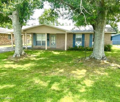 Eunice Single Family Home For Sale: 1231 Bruce Avenue