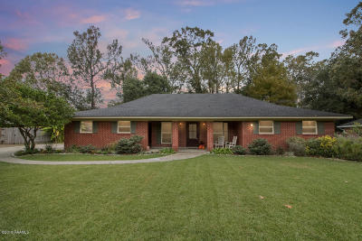 Lafayette Single Family Home For Sale: 1413 Alice Drive