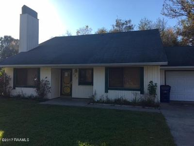 Eunice Single Family Home For Sale: 731 Hill