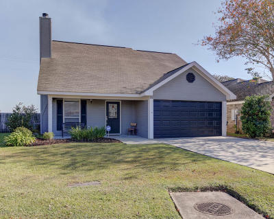 New Iberia Single Family Home For Sale: 2114 Cherry Palm Circle