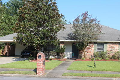 Lafayette Single Family Home For Sale: 204 Englewood Drive