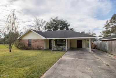 Carencro Single Family Home For Sale: 220 Aimee Drive