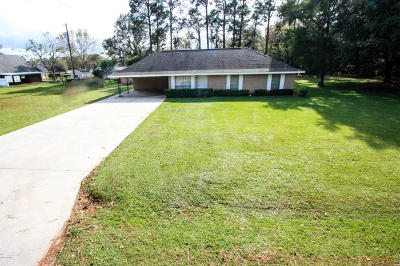Youngsville Single Family Home For Sale: 209 Rue D'amour