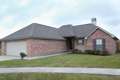 Carencro Single Family Home For Sale: 106 Feather Tail Cove