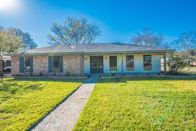 Lafayette Single Family Home For Sale: 100 Galvez