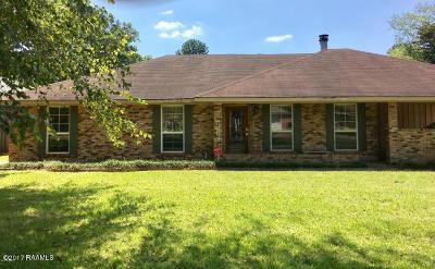 Lafayette Single Family Home For Sale: 416 Cherokee Lane