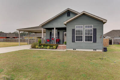 Duson Single Family Home For Sale: 129 Stoneburg