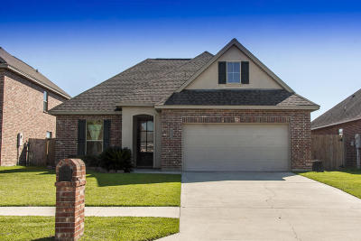 Broussard Single Family Home For Sale: 113 Cypress Sunset