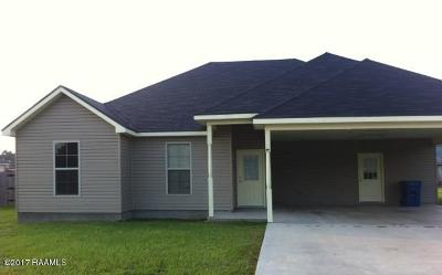 Breaux Bridge Single Family Home For Sale: 912 Lillian Michel