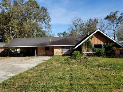 New Iberia Single Family Home Active/Contingent: 2003 Old Jeanerette Road