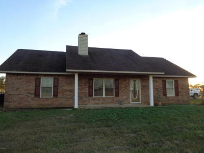 Mamou Single Family Home For Sale: 3103 Highway 95