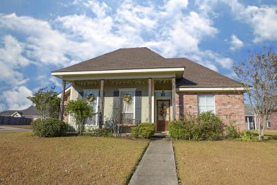 Broussard Single Family Home For Sale: 200 Doe Lane
