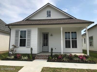 Lafayette Single Family Home For Sale: 109 Keelingwood Lane