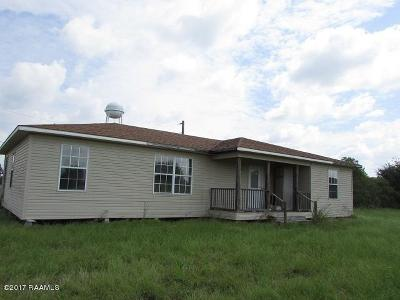 Opelousas Single Family Home For Sale: Lot 9 Abby Lane