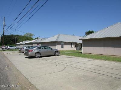 Opelousas Multi Family Home For Sale: 608 W Cherry Street